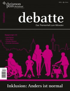 debatte Inklusion Cover