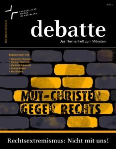 debatte Cover Rechtsextremismus dd